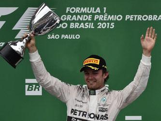 Nico Rosberg feierte in Brasilien seinen fünften Saisonsieg. Foto: Sebastiao Moreira