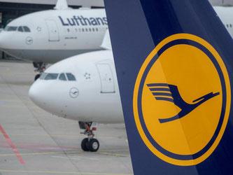 Unter dem Strich stand bei der Lufthansa ein Verlust von 8 Millionen Euro. Foto: Boris Roessler