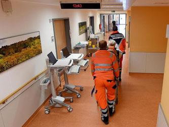Viele Menschen gingen aus Bequemlichkeit in die Notaufnahme. Foto: Holger Hollemann/Archiv