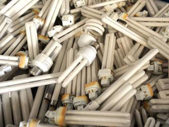 Für Verbraucher kann das giftige Schwermetall Quecksilber im Haushalt zur Gefahr werden, wenn die Energiesparlampe zerbricht. Foto: Patrick Seeger