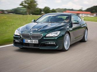 Alpina-Fans kommen voll auf ihre Kosten mit der Jubiläums-Edition vom Alpina B6. Foto: BMW