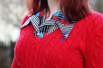 Bildrechte: Flickr 70s Pointed Collar Shirt under a Red Polo Ralph Lauren Sweater Jamie CC BY-SA 2.0 Bestimmte Rechte vorbehalten