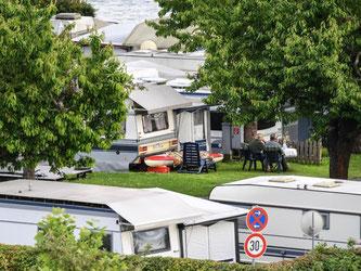 30,4 Millionen Übernachtungen und 9 Millionen Gästeankünfte konnten deutsche Campingplätze im vergangenen Jahr verbuchen. Foto: Felix Kästle/dpa