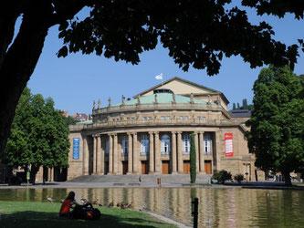 Das Opernhaus in Stuttgart ist zu sehen. Foto: Bernd Weißbrod/Archiv