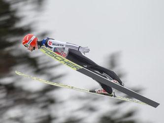 Markus Eisenbichler hat mit Rang 29 zur Halbzeit am Bergisel alle Chancen eingebüßt. Foto: Jakob Gruber