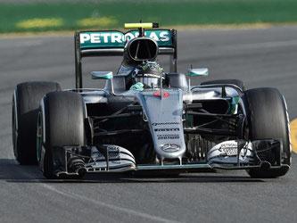 Nico Rosberg gewann das erste Saisonrennen der Formel 1. Foto: Julian Smith
