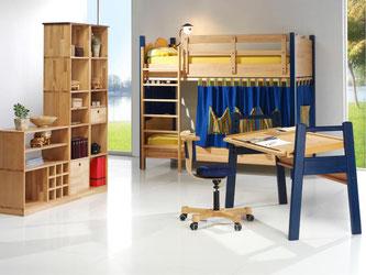 Die Stile der Kindermöbel sind verschieden, eines ist aber allen Eltern wichtig: Die Einrichtung soll schadstoffarm sein. Foto: DGM/VDM/Holzschmiede