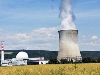 Das schweizerische Kernkraftwerk Leibstadt. Foto: Patrick Seeger/Archiv