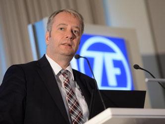 Stefan Sommer, Vorstandschef der ZF Friedrichshafen AG. Foto: Felix Kästle