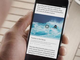 Facebook hat neue Partner für sein Mobil-Projekt «Instant Articles» gefunden. Foto: Facebook