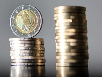 Euro-Münzen. Foto: Oliver Berg/Archiv