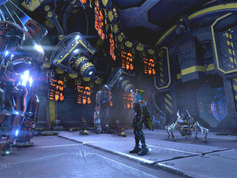 Neben Hindernisparcours müssen Spieler in «ReCore» auch einige Rätsel lösen. Screenshot: Microsoft Foto: Microsoft