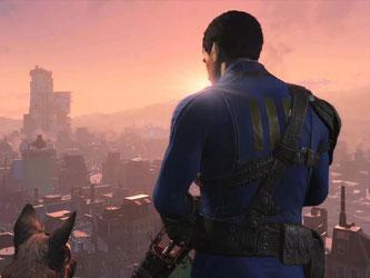 Mann und Hund in postnuklearer Ödnis: «Fallout 4» gehört zu den lang ersehnten Titeln für Rollenspielfans in diesem Jahr. Screenshot: Bethesda Foto: Bethesda