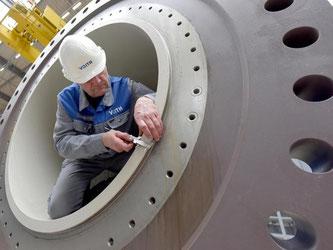 Die Angst der Maschinenbauer vor einem möglichen «Grexit» hält sich in Grenzen. Foto: Stefan Puchner/Symbolbild