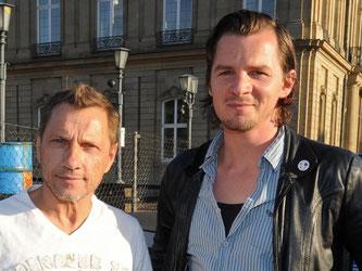 Die «Tatort»-Kommissare Thorsten Lannert (l.) und Sebastian Bootz. Foto: Franziska Kraufmann/Archiv