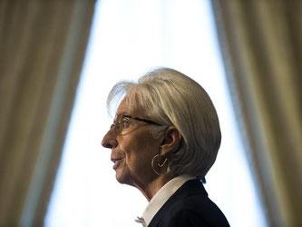 Die 59-Jährige Lagarde muss sich laut Mediapart wegen Fahrlässigkeit vor dem Gerichtshof der Republik verantworten. Foto: Jim Lo Scalzo