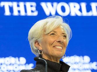Der IWF hat die zweite Amtszeit seiner geschäftsführenden Direktorin Christine Lagarde bestätigt. Foto: Jean-Christophe Bott