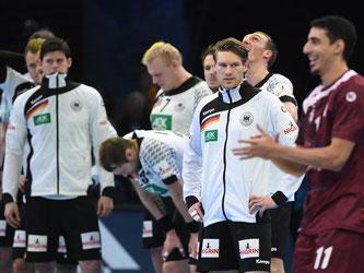 Die deutschen Handballer scheiterten bei der WM an Katar. Foto: Marijan Murat