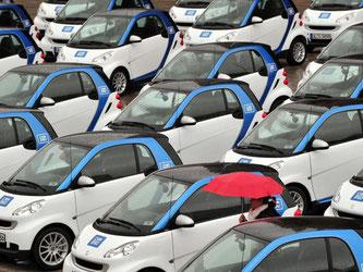 Carsharing boomt: Immer mehr Kunden mögen das «Auto auf Zeit». Foto: Stefan Puchner/dpa-tmn