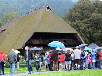 Vogtsbauernhof des Schwarzwälder Freilichtmuseums. Foto: Patrick Seeger/Archiv