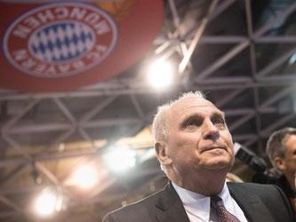 Uli Hoeneß wurde zum Präsident des FC Bayern München gewählt. Foto: Matthias Balk
