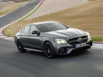 AMG schickt die E-Klasse von Mercedes ab Frühjahr 2017 mit mehr Leistung und verändertem Äußeren auf die Straßen. Foto: Daimler AG