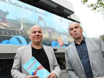 Die Organisatoren Ulrich Wegenast (l) und Dietmar Lumpp (r). Foto: Bernd Weissbrod