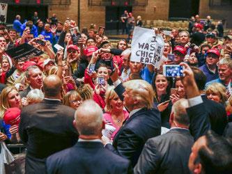 Der Präsidentschaftskandidat der US-Republikaner wird 2016 aller Voraussicht nach Donald Trump heißen. Foto: Tannen Maury