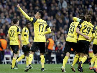 Durch das 2:2 in Madrid sicherten sich die Dortmunder den Gruppensieg. Foto: JuanJo Martin