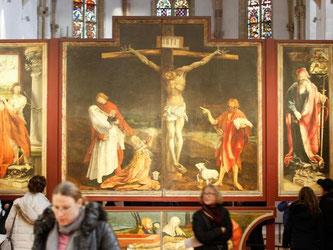 Der Isenheimer Altar im Unterlinden-Museum in Colmar. Foto: MATHIEU CUGNOT
