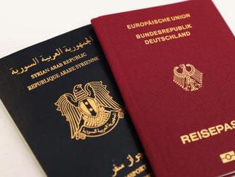 Deutsche, die auch einen syrischen Pass haben, erhalten zurzeit kein Visum für die USA. Foto: Daniel Karmann
