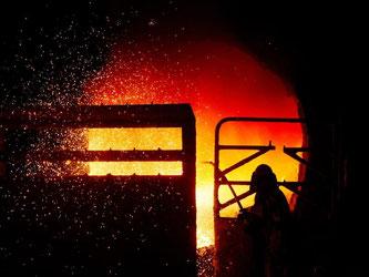 Die deutsche Wirtschaft bleibe ein Fels in der weltwirtschaftlichen Brandung, sagte Ifo-Präsident Hans-Werner Sinn am Dienstag in München. Foto: Julian Stratenschulte