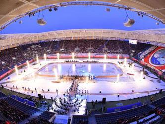 Rhein-Neckar-Arena in Sinsheim. Foto: Uwe Anspach