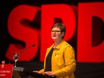 Landesvorsitzende der SPD Baden-Württemberg, Leni Breymaier, ist zu sehen. Foto: Lino Mirgeler/Archiv