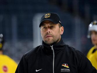 Bundestrainer Marco Sturm: «Wir sind bereit für einen großen Abend!» Foto: Monika Skolimowska