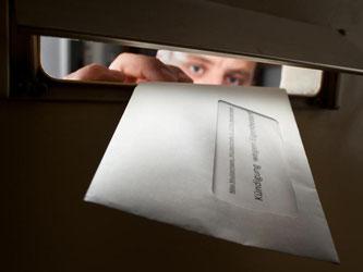 Schock im Briefkasten: Eine Kündigung des Mietvertrags wegen Eigenbedarf trifft Mieter oft unvorbereitet. Foto: Franziska Gabbert