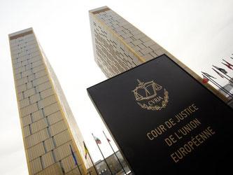 Türme des Europäischen Gerichtshofs (EuGH) in Luxemburg. Foto: Thomas Frey/Illustration