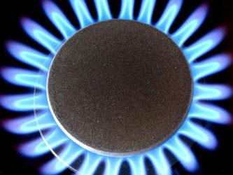 Gasflamme auf einem Gasherd. Die Grünen-Fraktion im Bundestag hatte eine Studie zu sinkenden Gaspreisen in Auftrag gegeben. Foto: Patrick Pleul/Archiv