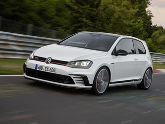 Mit 250 km/h ist der Clubsport ziemlich schnell unterwegs. Foto: Volkswagen
