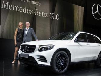 Daimler-Chef Dieter Zetsche bei der Vorstellung des neuen Geländewagens Mercedes Benz GLC im Juni dieses Jahres. Foto: Marijan Murat