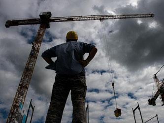 Vor allem das Baugewerbe und verwandte Branchen sind für 2017 zuversichtlich. Foto: Daniel Bockwoldt