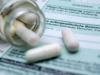 Kosten für Medikamente können in der Steuererklärung als außergewöhnliche Belastungen eingetragen werden. Foto: Andrea Warnecke