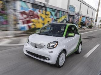 Im April soll der neue Smartwo ED auf den Markt kommen. Foto: Daimler AG