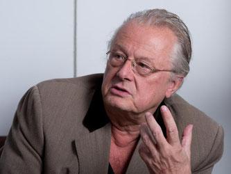 Der Theaterregisseur Frank Castorf. Foto: Bernd Weißbrod