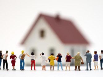 Crowdfunding-Plattformen bringen private Anleger, den Schwarm, zusammen, um damit eine Immobilien zu finanzieren. Foto: Andrea Warnecke
