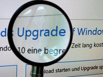 Microsoft rät zum Upgrade auf Windows 10. Aber lohnt sich das auch? Für die meisten Nutzer von Windows 7 und 8 lautet die Antwort: Meistens ja. Foto: Susann Prautsch