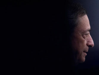 EZB-Präsident Mario Draghi. Foto: Boris Roessler