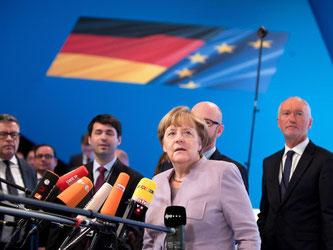 Die Kanzlerin hat unterstrichen, dass die Union ohne Koalitionsaussage in den Wahlkampf 2017 ziehen will. Foto: Kay Nietfeld
