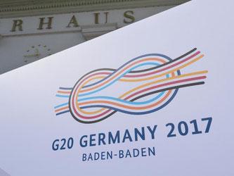 Die Finanzminister und Notenbankchefs der G20 kommen in Baden-Baden zusammen. Foto: Franziska Kraufmann