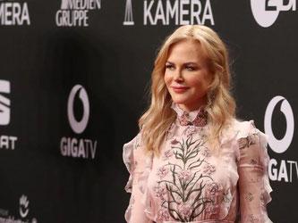 Ankunft der australischen Schauspielerin Nicole Kidman. Foto: Christian Charisius